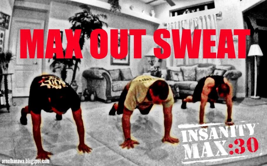 Insanity Max 30 - MAX OUT SWEAT Workout | Arnel Banawa