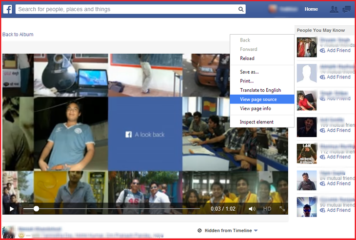 how to download private facebook videos mac