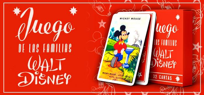 Baraja Juego de las familias Walt Disney