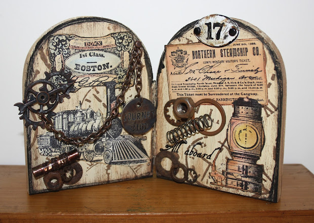 Steampunk Rubber Stamps