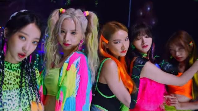 Di Teaser MV ME & YOU EXID Disinari Cahaya Neon