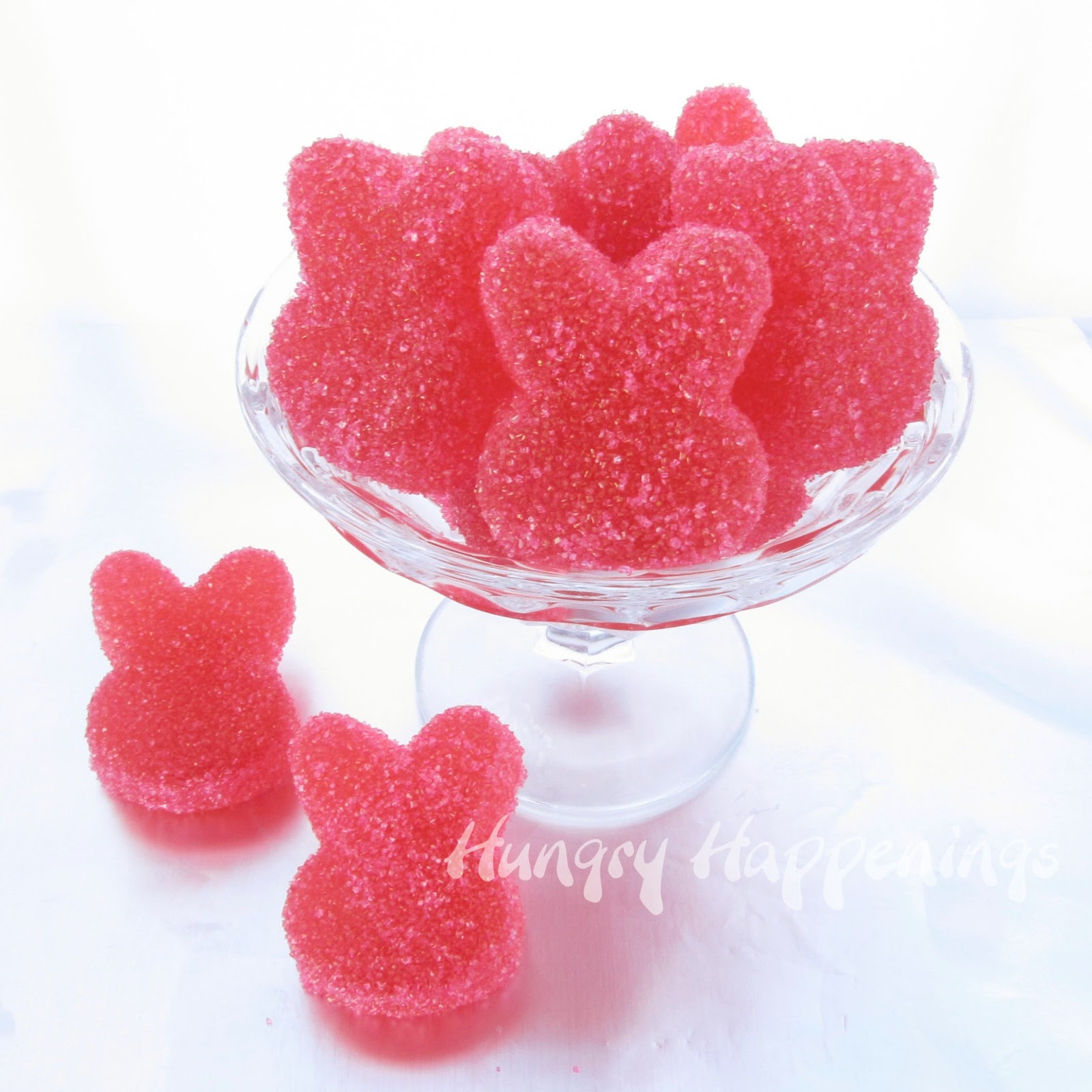 Homemade Sour Gummy Bunnies Hungry Happenings Easter Recipes High quality i want fruit gummy gifts and merchandise. hungry happenings