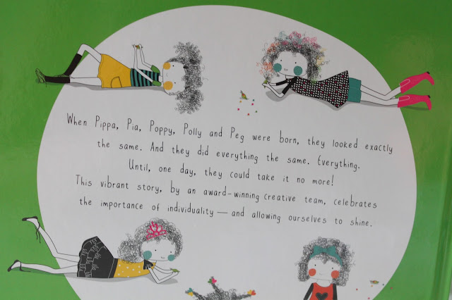 summary of peas in a pod children's book designed to highlight the importance of being an individual
