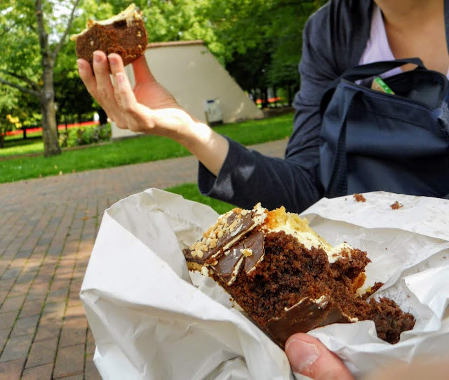 Things to do in Tricity Poland: eat plenty of cake in the park