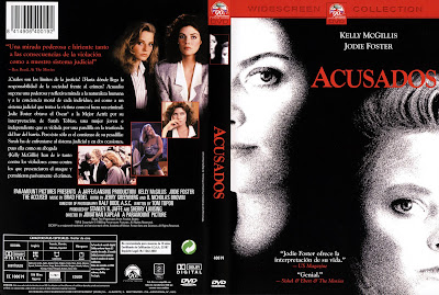 Acusados | 1988 | The Accused | Cover, dvd, carátula
