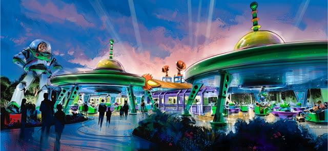 área Toy Story Land Disney