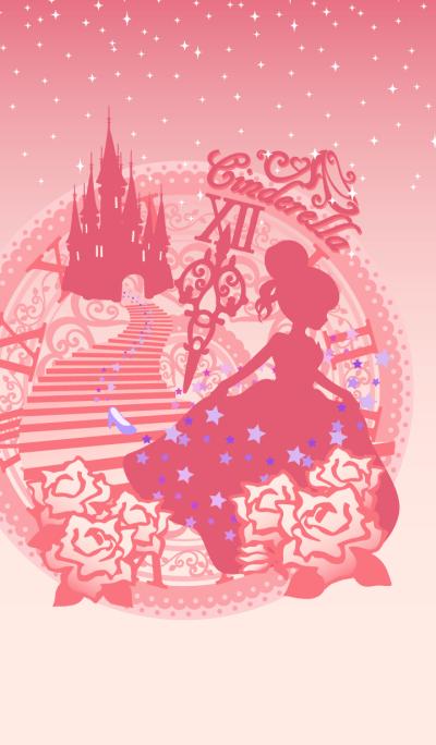 Cinderella Silhouette Pink