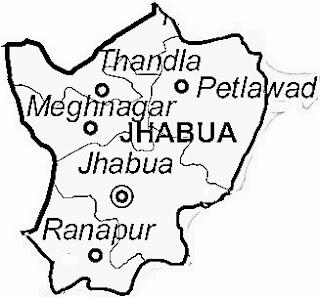 jhabua map