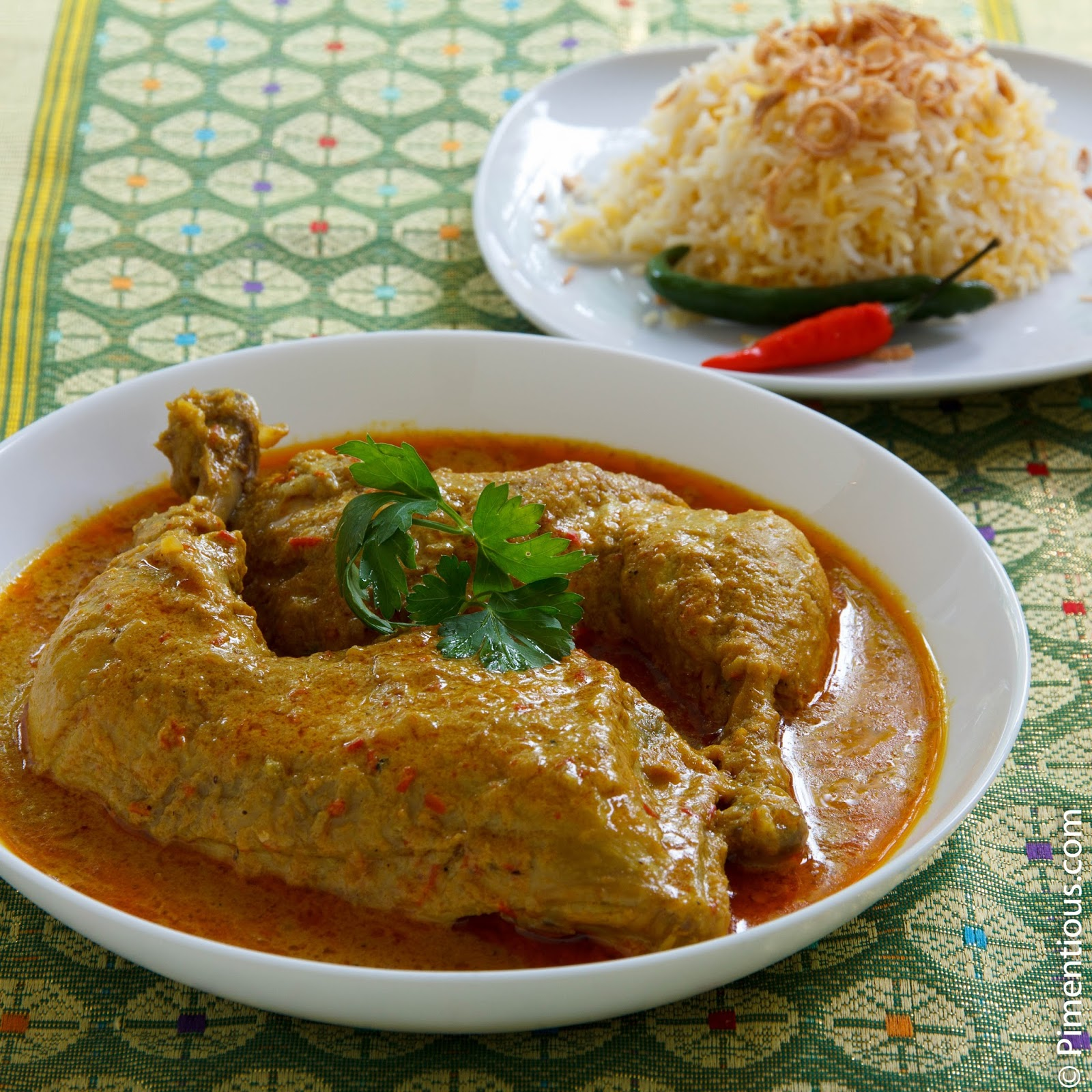 Gulai Ayam (Chicken Curry from...