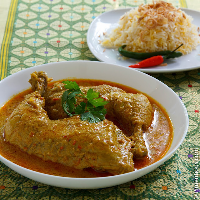 Gulai Ayam, Indonesian chicken curry