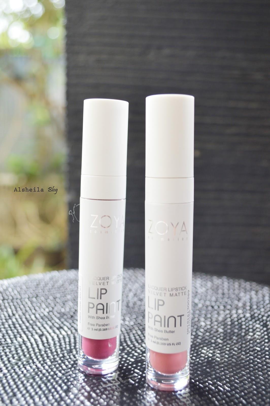 Lip Paint Zoya