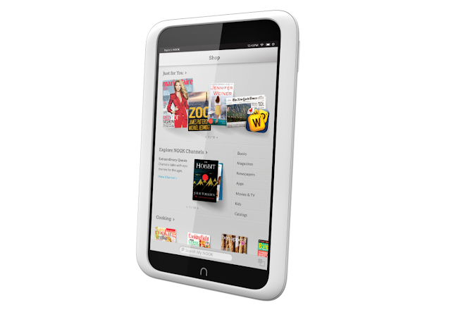 Barnes & Noble's 2 New Nook Tablets Take On Both Amazon and Apple