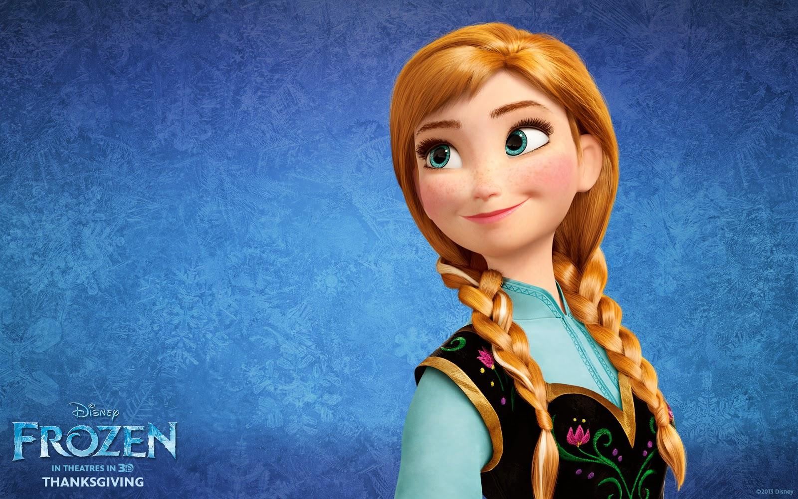 Anna Frozen Wallpaper