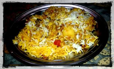 Mughal Style Chicken Biryani