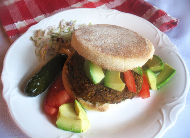 Vegan Quinoa Burger with Sun-Dried Tomatoes