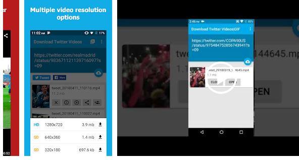 برنامج تحميل الفيديو من تويتر للاندرويد
