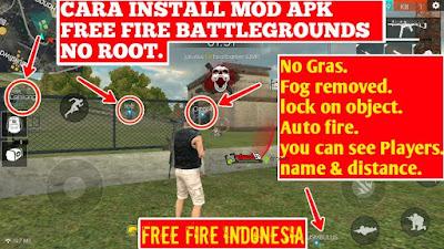 Download Garena Free Fire MOD APK+OBB V1.24.2 Terbaru