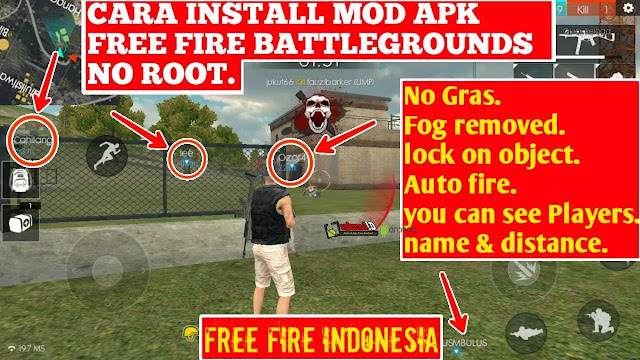 Download MOD Free Fire APK+Data Terbaru