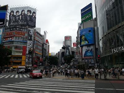 el cruce de shibuya es el mas transitado del mundo
