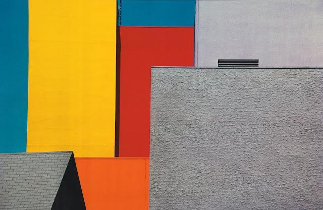Composizione di una fotografia, esempio da Franco Fontana