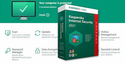 طريقة تفعيل kaspersky internet security 2017 بدون كراك مجانا