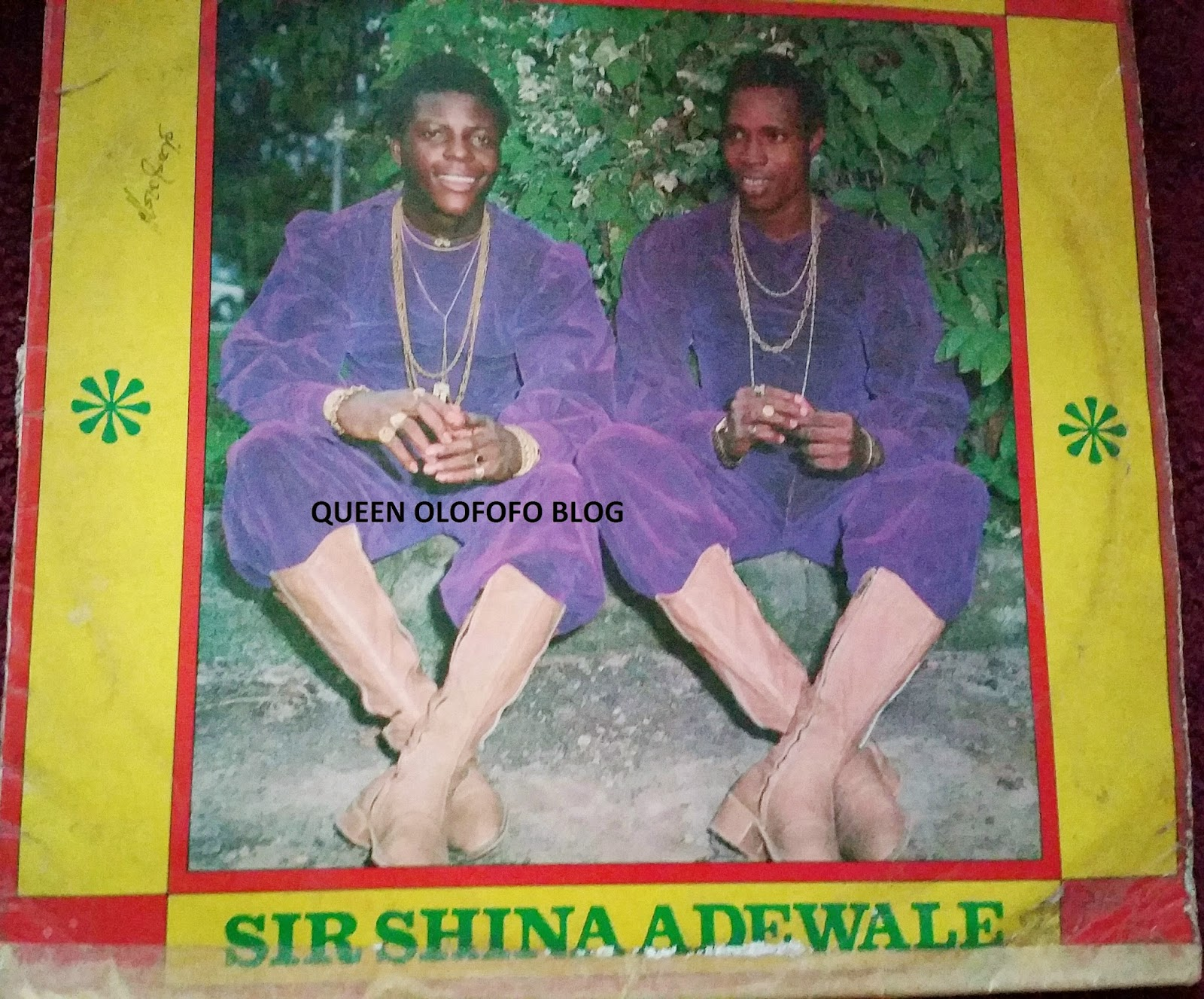 sir shina adewale ruled the airwaves in the 70s with funky juju