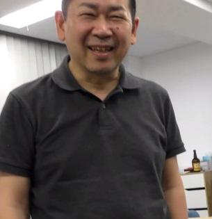 Yu Suzuki smiling