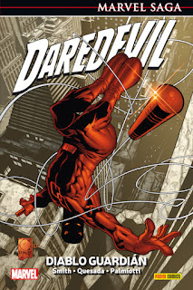 DAREDEVIL 1 DIABLO GUARDIAN  Marvel Comic de Kevin Smith y Joe Quesada MARVEL SAGA  Reseña de Daredevil 1Diablo Guardián desde Panini comics