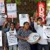 केवाईएस ने जेएनयू में एबीवीपी द्वारा हिंसा और उसके जनवाद-विरोधी एजेंडे के खिलाफ प्रदर्शन में निभाई हिस्सेदारी  KYS played the role of ABVP in JNU against demonstration against violence and anti-democracy agenda