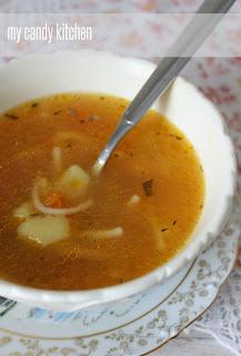 Постна супа с фиде