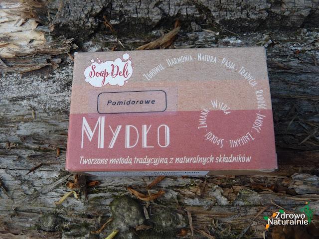 Soap Deli - Mydło pomidorowe do pielęgnacji skóry z trądzikiem