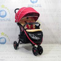 Kereta Bayi LightWeight BABYELLE BS-S509 Tango - Red