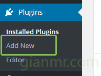 install plugin di wordpress