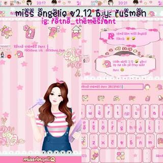 BBM MOD Miss AngeliQ v 2.12.11.0.18 Terbaru Gratis