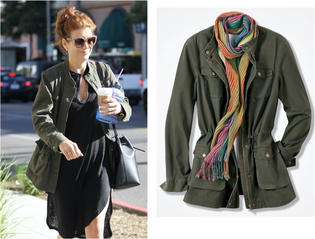 Kate Walsh in Foothills Cotton Twill Anorak