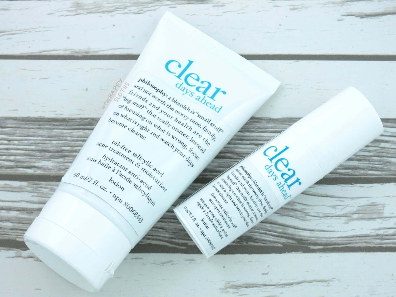 Philosophy Clear Days Ahead Acne Treatment Moisturizer & Spot Treatment