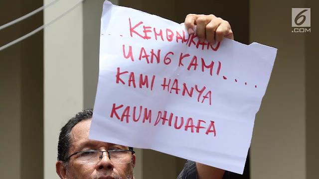 Jamaah Korban First Travel Minta Jokowi Bentuk Tim Pencari Fakta, Begini Selengkapnya