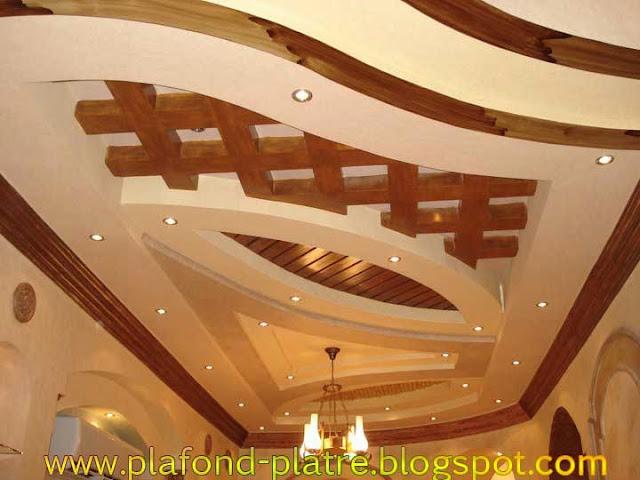 faux plafond d coration excellent faux plafond platre suspendu et tendu. Black Bedroom Furniture Sets. Home Design Ideas