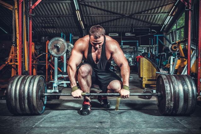 Break form để tập nặng