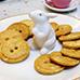 Cute as a Button Butter Cookie