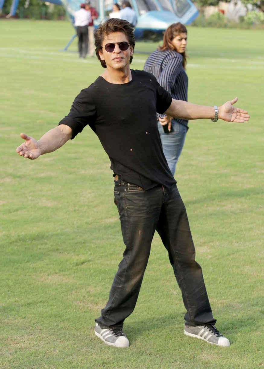 Shah Rukh Khan at Promotion of Film 'Jab Harry Met Sejal' at SGT University