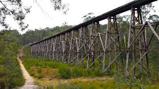 Stony Creek Trestle Bridge, Rail trail