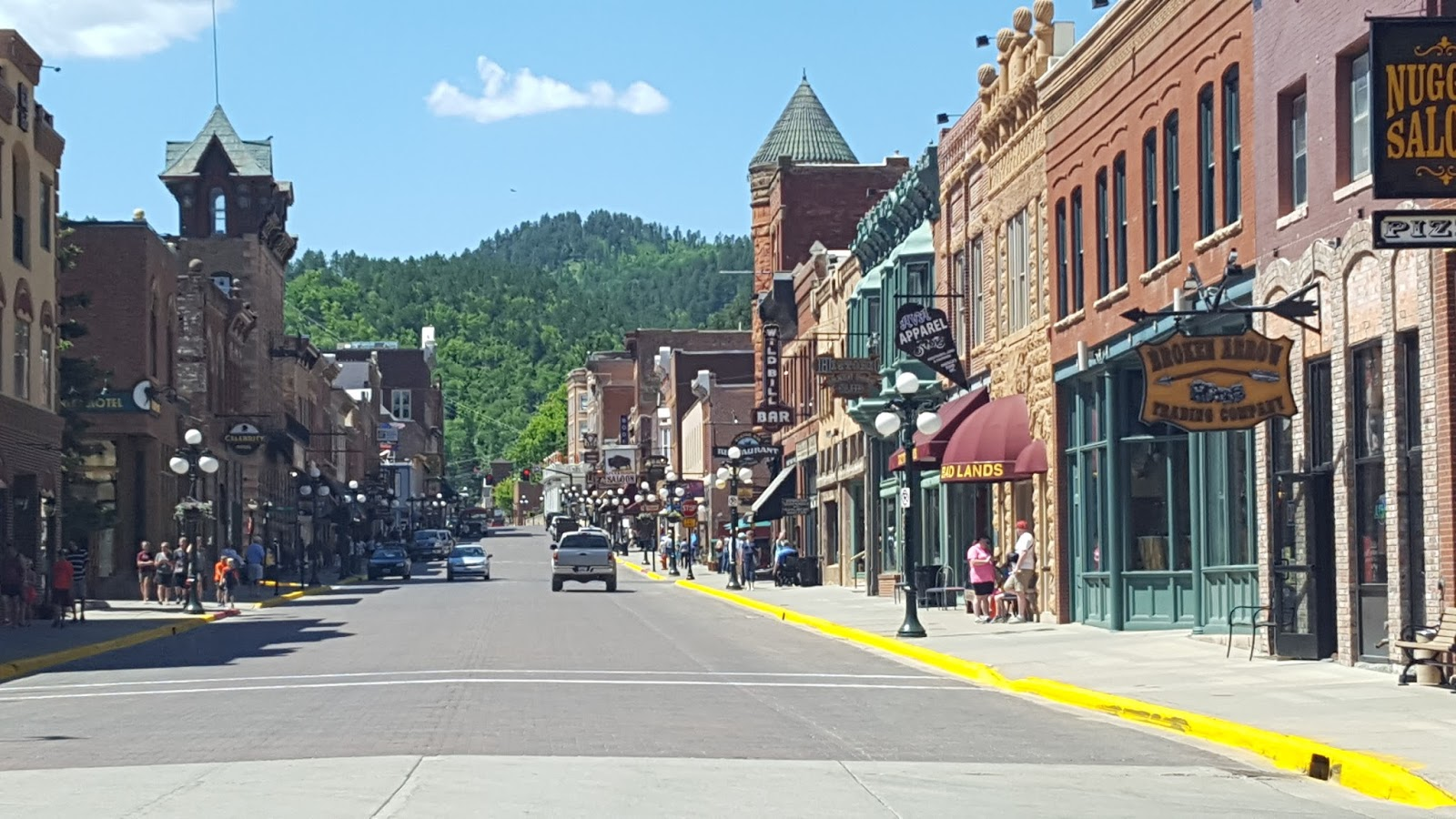 Eas On Down The Road Spearfish Sd And The Beartooth