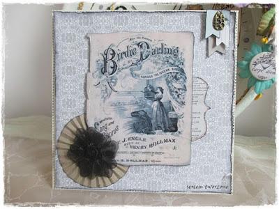 1865/ Birdie darling w szarościach…