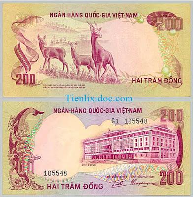 200 đồng việt nam cộng hòa 1972