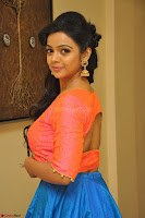 Nithya Shetty in Orange Choli at Kalamandir Foundation 7th anniversary Celebrations ~  Actress Galleries 054.JPG