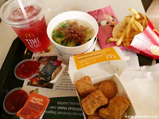 McDonald's Malaysia Congee