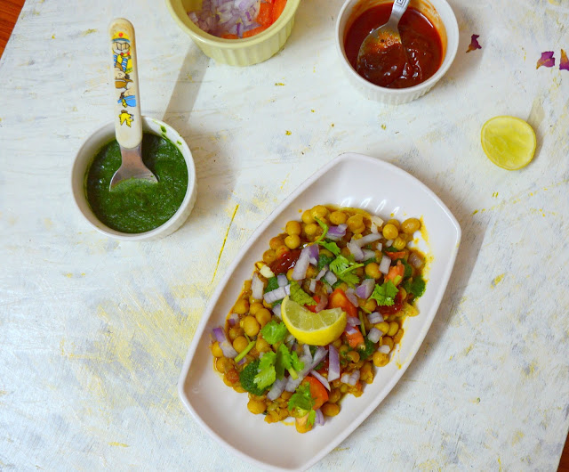 Ragda Patties | North Indian Chaat Recipe