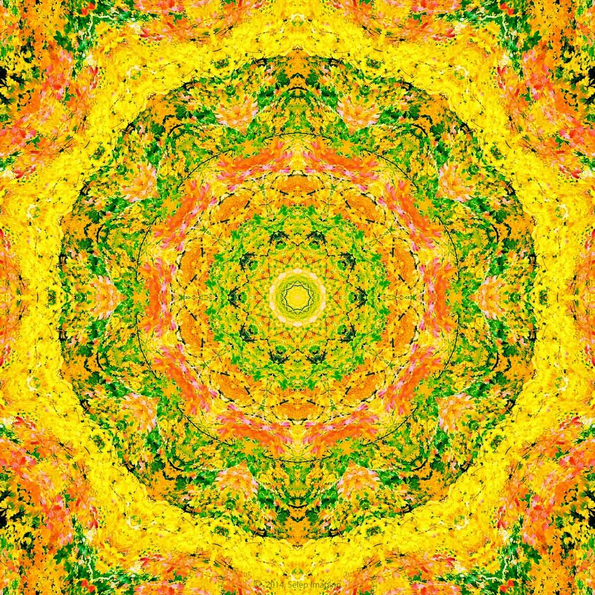 Kaleidoscope free desktop background by Jeanne Selep