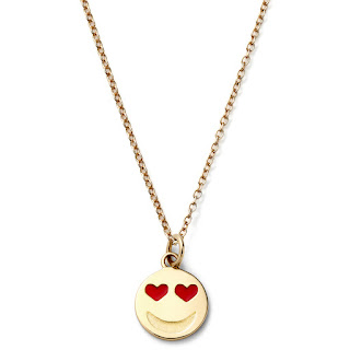 I absolutely love this collection and feel it's a wonderful tongue in cheek way to tell someone how you feel. Smiley face necklaces have been rising in popularity and this is great way to give someone a fun and joyful piece of jewellery before you go out and buy that engagement ring.